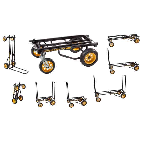 R12RT Multi-Cart Picture of all eight carts options