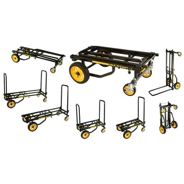R6RT Multi-Cart Picture of all eight carts options