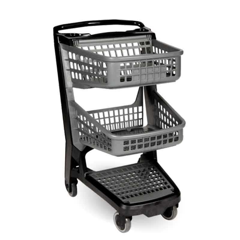 Model APCC All Polymer Plastic Convenience Cart