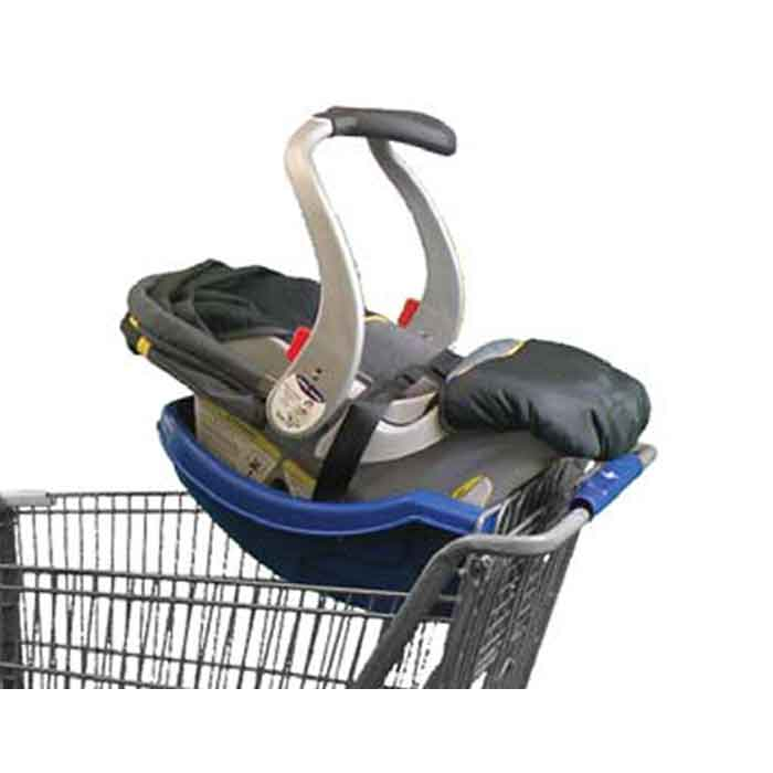 Safe-Dock Shopping Cart Car Seat Carrier Dock
