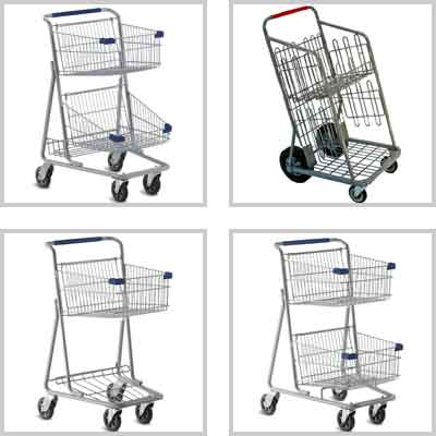 Express Convenience Retail Shopping Carts