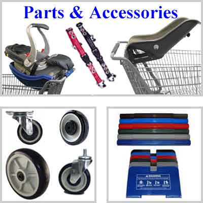 Retail Shopping Carts parts and accessories