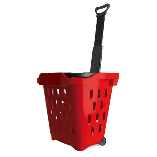 Model RHB50L Retail Rolling Hand Basket