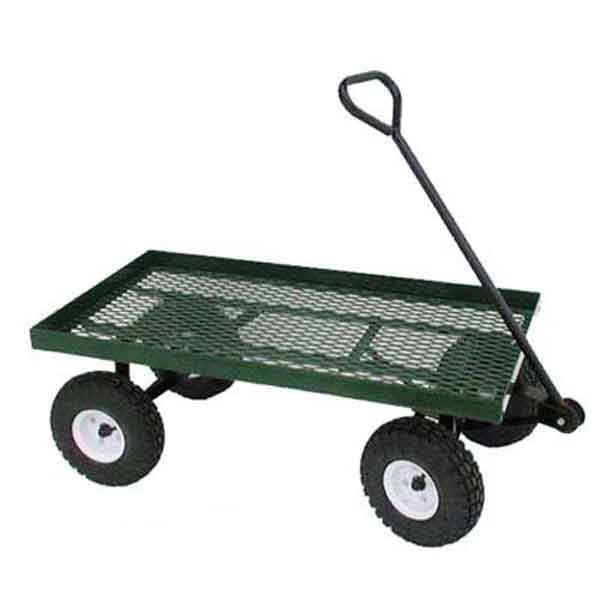 20x38sd Expanded Metal Single Deck Wagon