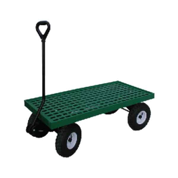 20x40SDP Single deck plastic flat deck wagon