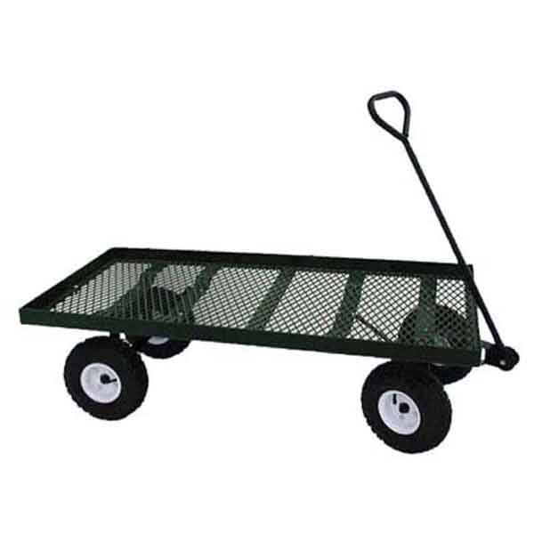 24x48SD Expanded metal single deck wagon