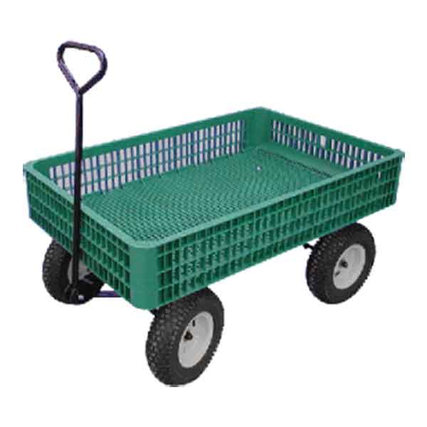30x46w Large Plastic Crate Wagon
