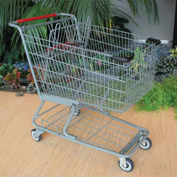 Model 6242RC Re-coated Large Wire Shopping Cart