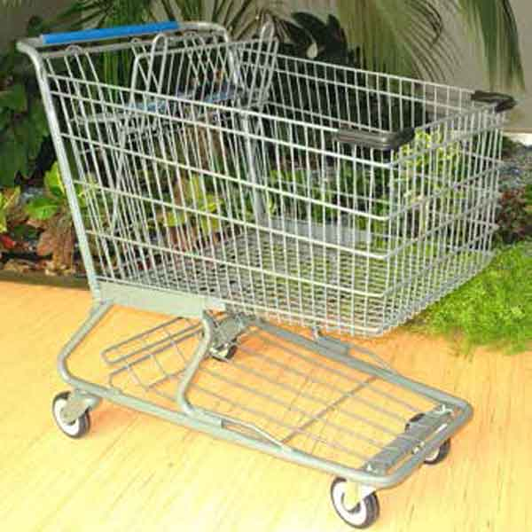Used Large Wire Shopping Cart
