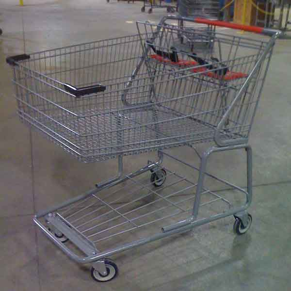 Used Jumbo Wire Shopping Cart
