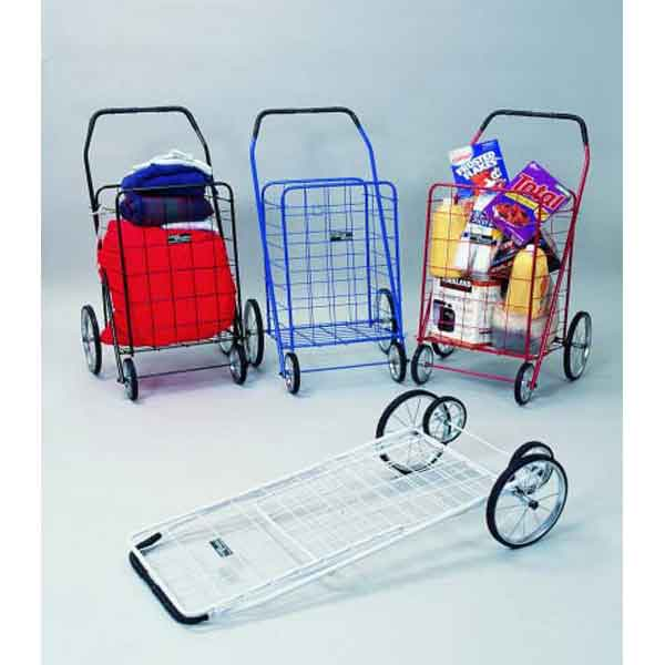 Model NTC001 Jumbo Folding Shopping Grocery Cart