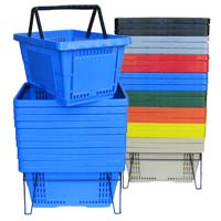 Model HB17P Plastic Hand Baskets