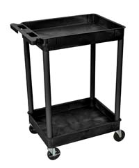 STC11 18x24 Two Tub Utility Cart