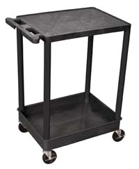 STC21 18x24 Two Shelf/Tub Utility Cart