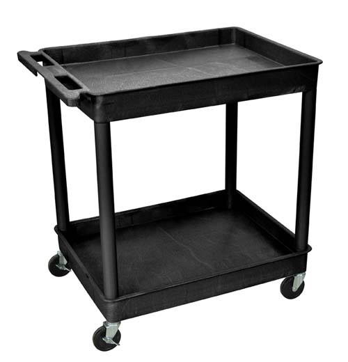 Model TC11 24x32 Two Tub Utility Cart