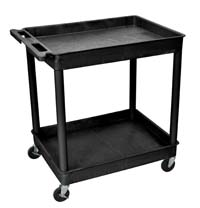TC11 24x32 Two Tub Utility Cart