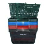 Model HB18W Plastic Hand Basket
