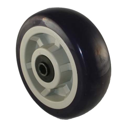 6 x2 Inch Heavy Duty Poly Wheels