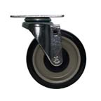 "4"" Plate Swivel Caster with Poly Wheel"