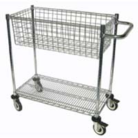1BMC One Basket Mail Cart