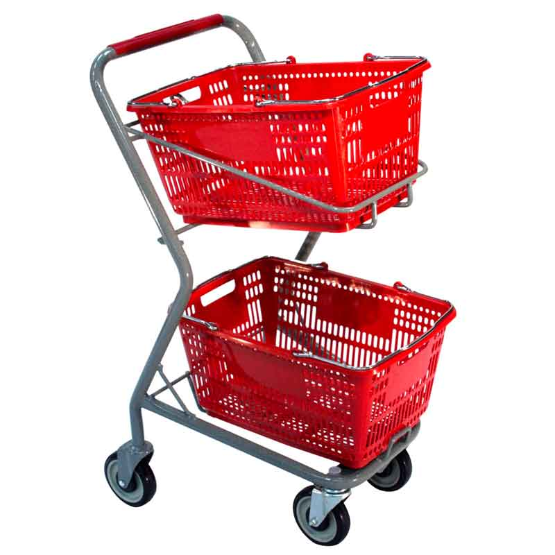 Model 050 Small Hand Basket Cart