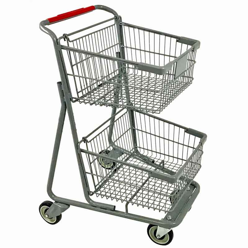 Model 075 Two Basket Express Convenience Carts