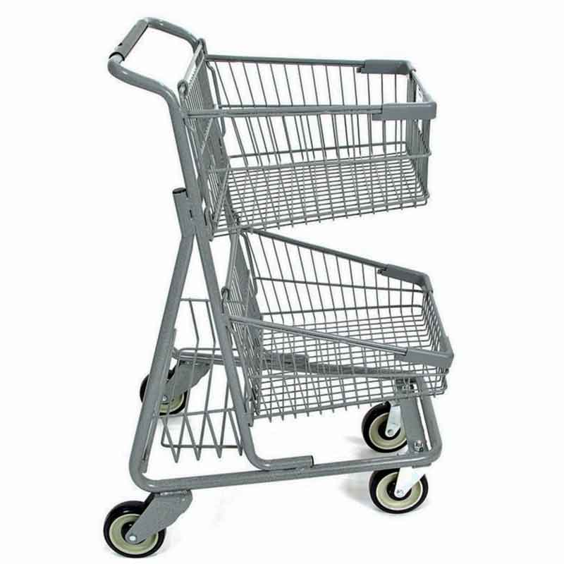 Model 085 Two Basket Express Convenience Carts