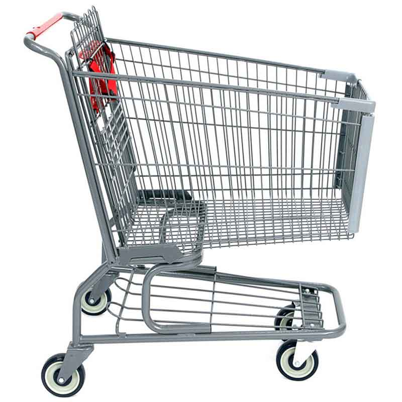 Model 200 Medium Wire Metal Shopping Carts