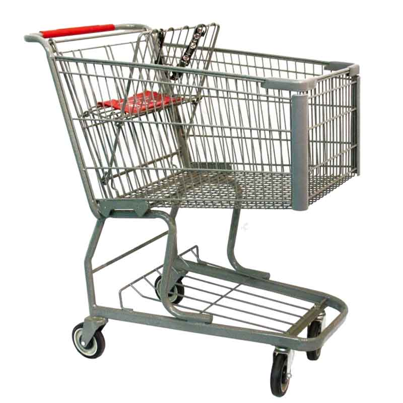 Model 250 Medium Wire Scanner Shopping Cart Photo