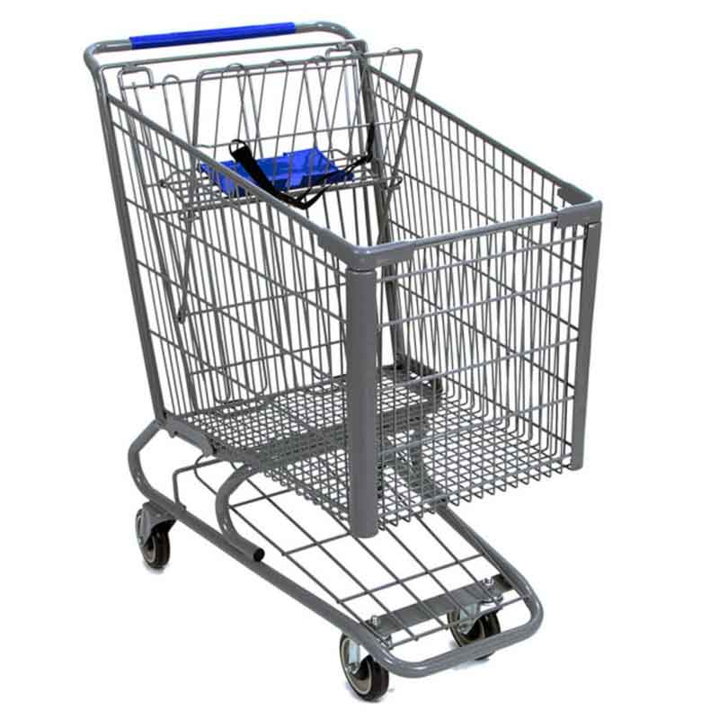 Model 300 Large Wire Metal Shopping Cart