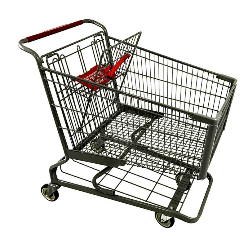 Model 700 Large Wire Metal Shopping Carts