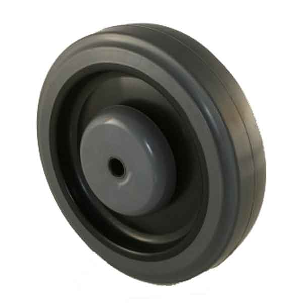 5 Inch Thermoplastic Elastomer (TPE) Shopping Cart Wheel