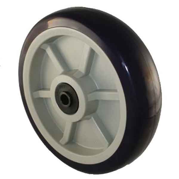 8 Inch x 2 Inch Heavy Duty Poly Wheel