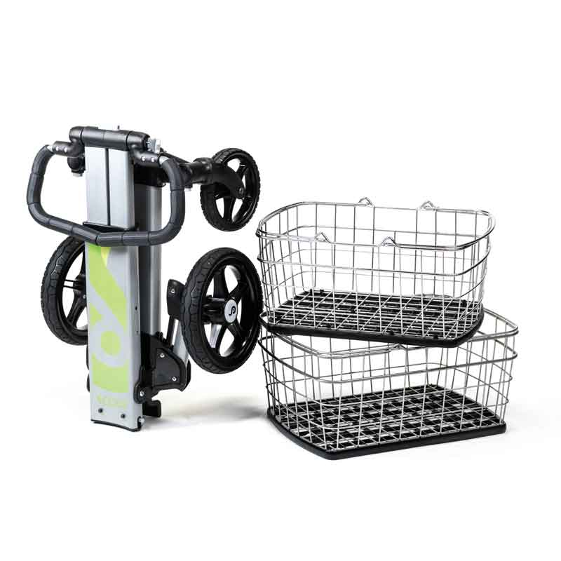 Scout Cart Personal Folding Shopping Grocery Cart