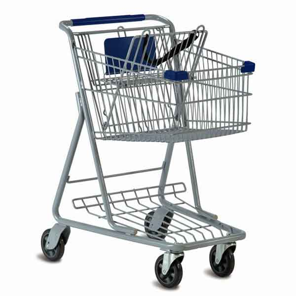 Model 1336 Small Retail Shopping Cart