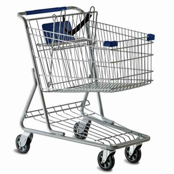 Model 1938 Small Wire Shopping Cart