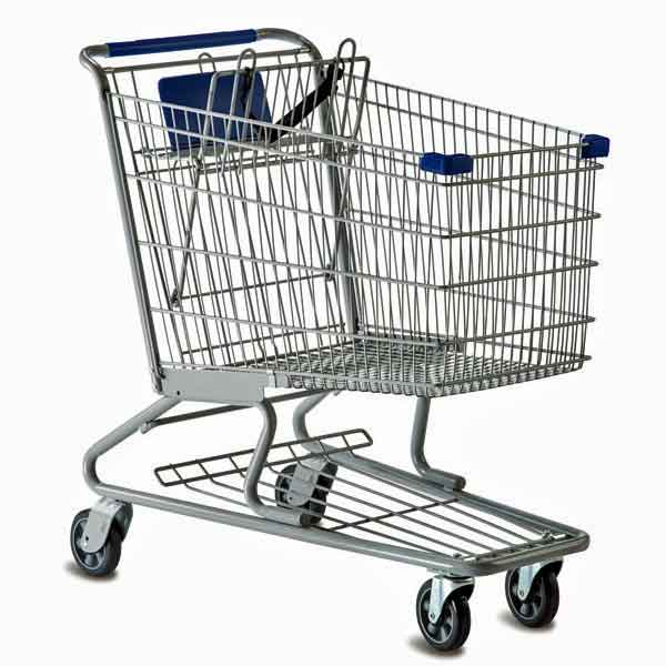 Wire Metal Retail Grocery Shopping Carts - Premier Carts