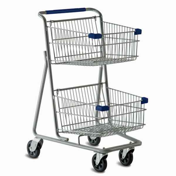 Model 5141D Two Basket Express Convenience Cart