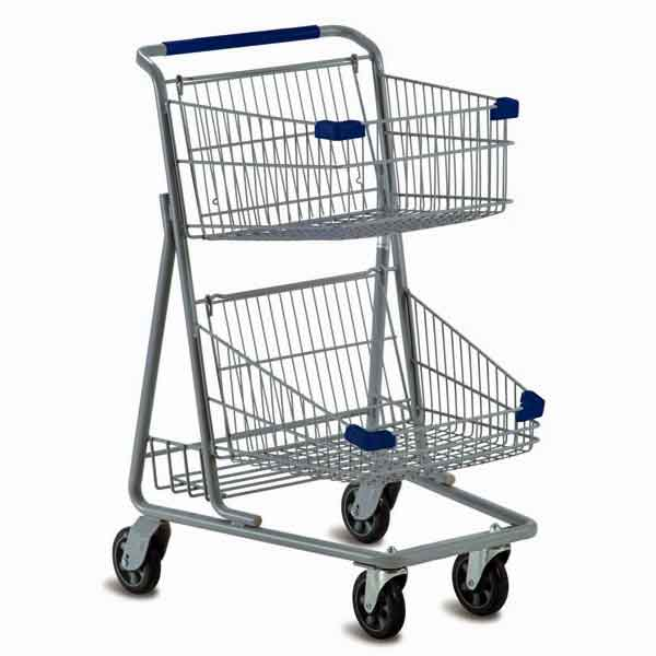 Model 5341 Two Basket Express Convenience Carts