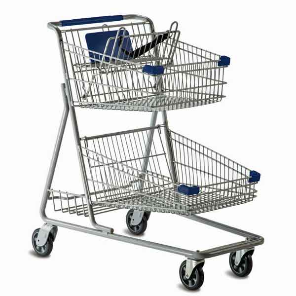 Model 5640 Large Two Basket Convenience Carts