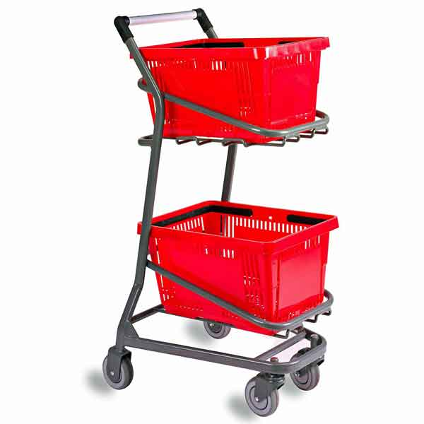 Model 101 EZcart Hand Basket Cart